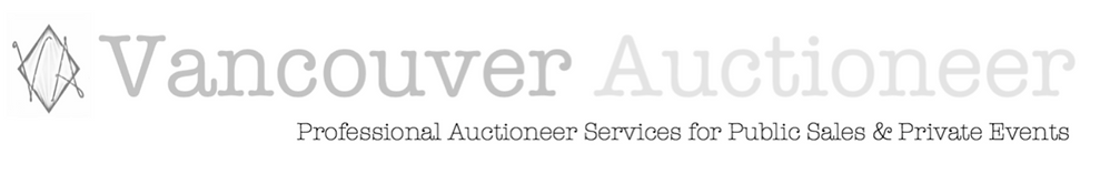 Vancouver Auctioneer logo, Crystal Campbell
