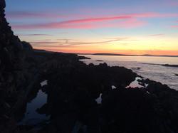 Sunrise at Castaway Wild Island Camping Long Island West Cork