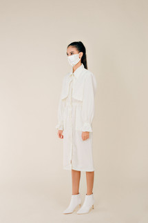 Cream Trench Protective Wear