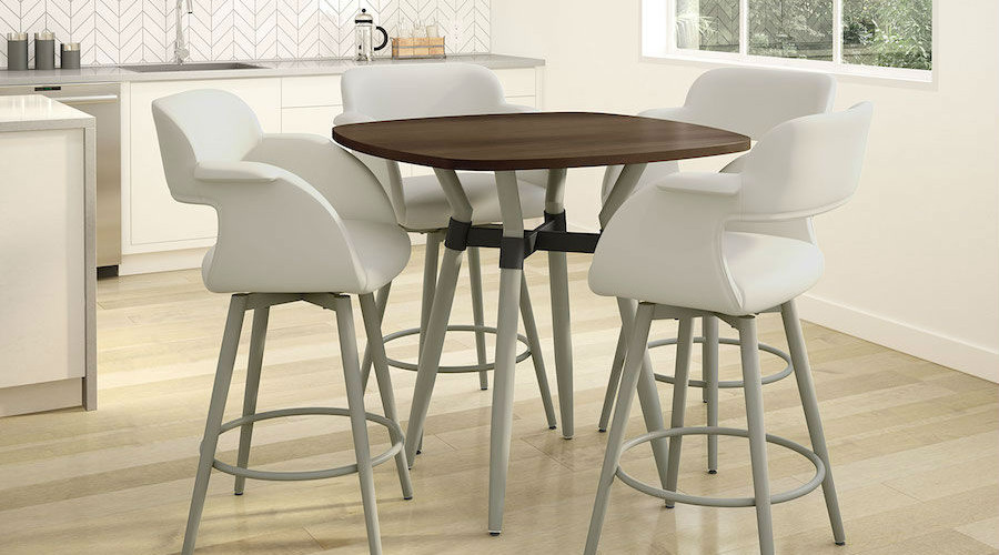 Link Table & Sorrento Stools from Amisco