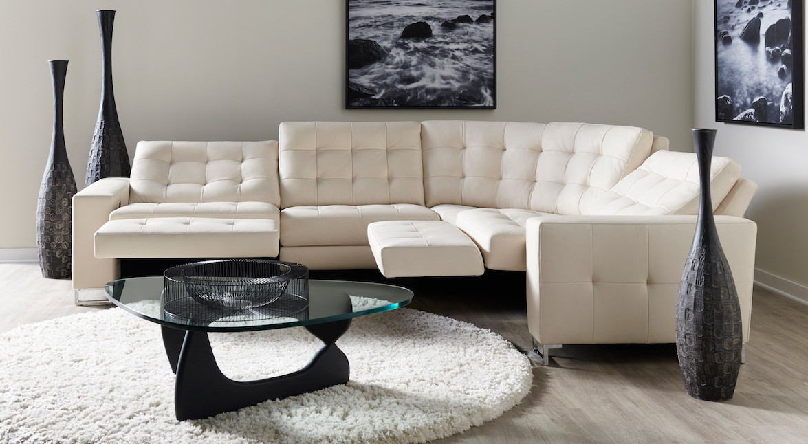 Hudson Corner Reclining Sectional from American Leather
