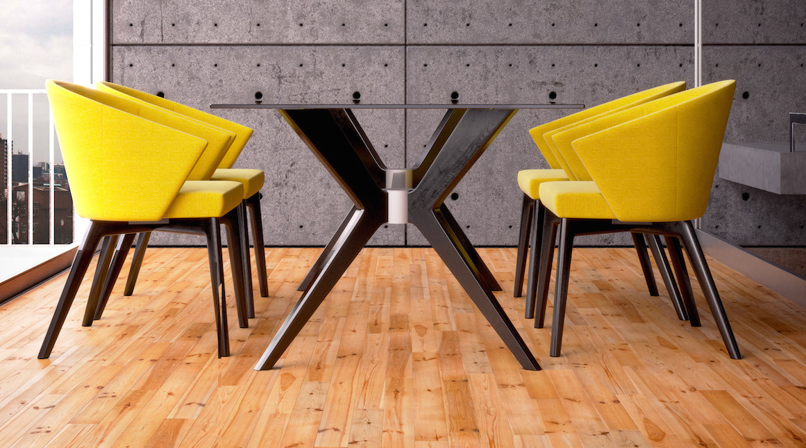 Downtown Dining Collection from Canadel
