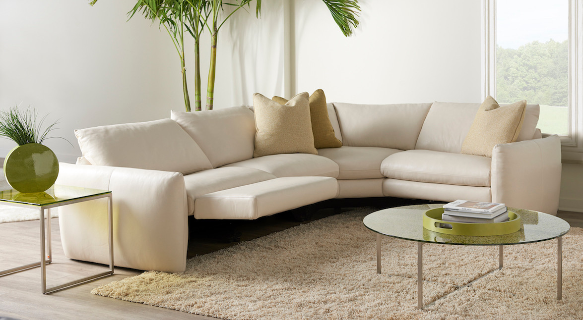 Fulton Reclining Sectional from American Leather