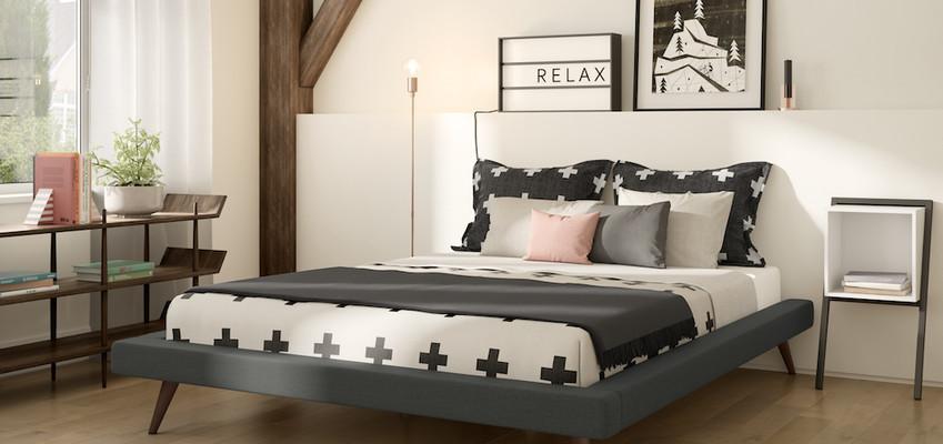 Maikki Bed from Amisco