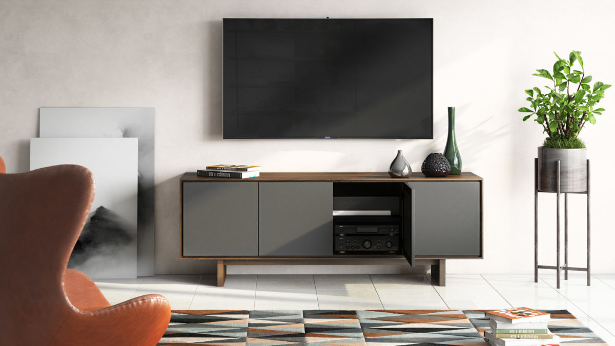 Octave Media Cabinet from BDI