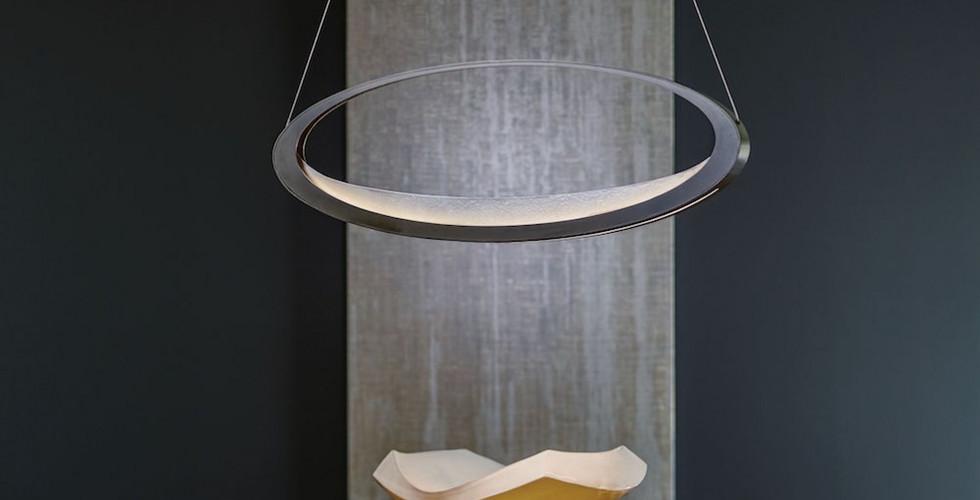 Penumbra Pendant from Hubbardton Forge