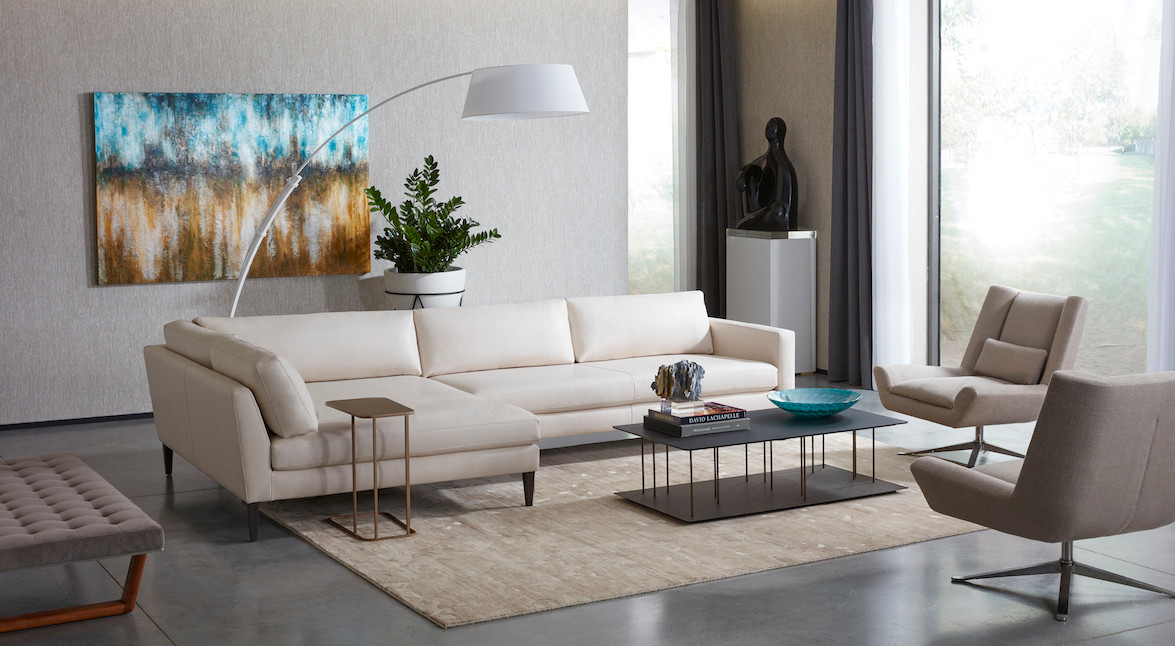 'Personalize' Sectional from American Leather