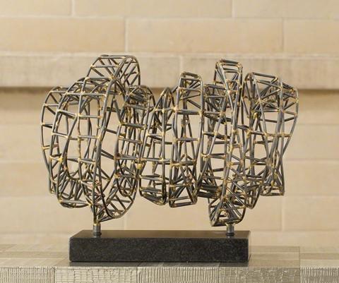 Tactile Metal Sculpture