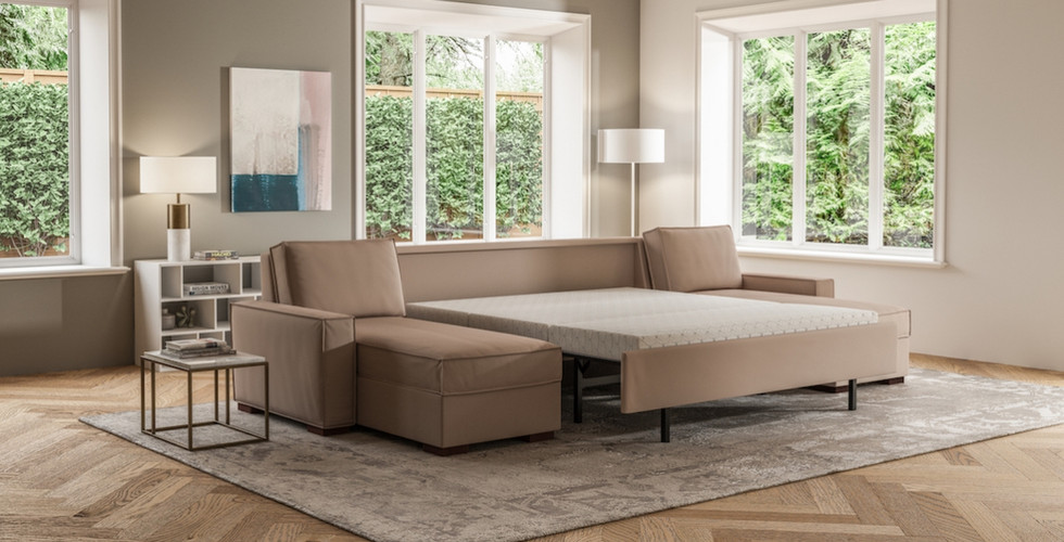 Madden Comfort Sleeper Sectional from American Leather