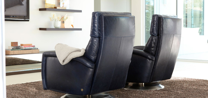 Demi Comfort Recliners from American Leather