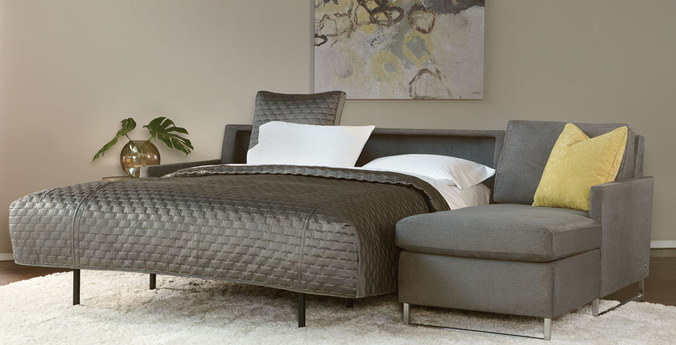 Brandt Comfort Sleeper Sectional from American Leather