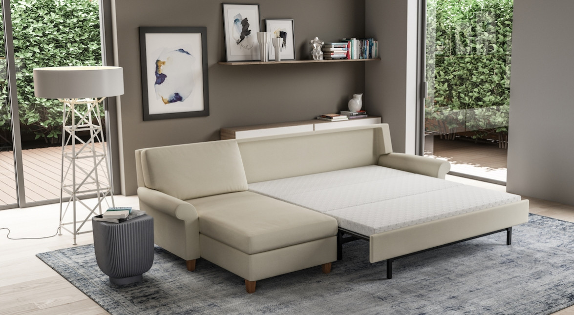 Gibbs Comfort Sleeper Sectional from American Leather