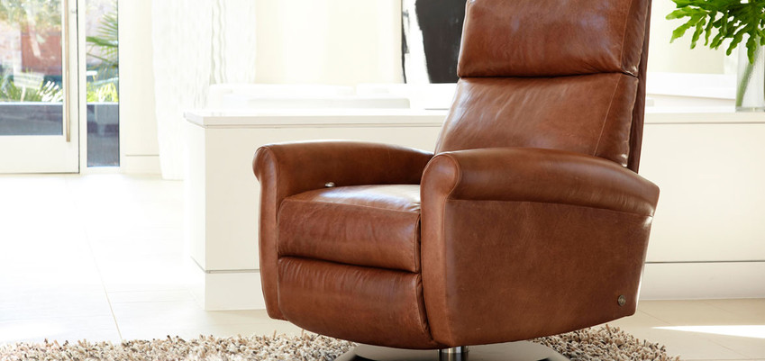 Ada Comfort Recliner from American Leather