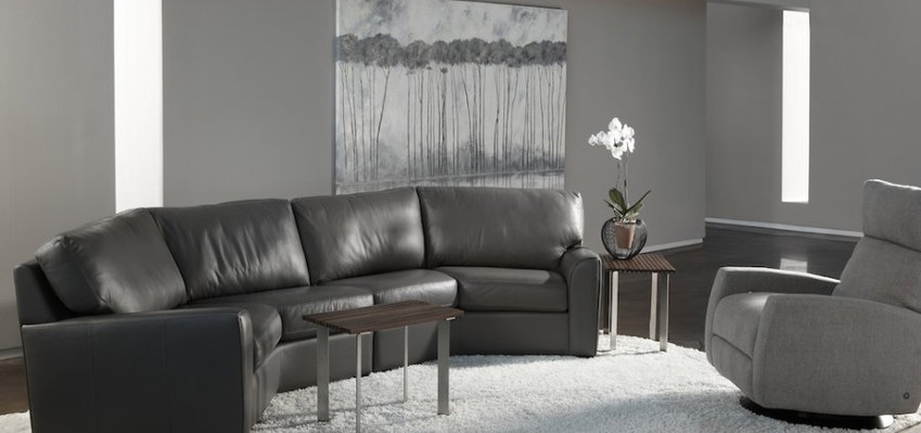 Kaden Sectional & Comfort Recliner from American Leather