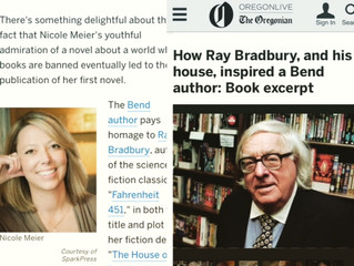 How Ray Bradbury, And His House, Inspired Bend Author