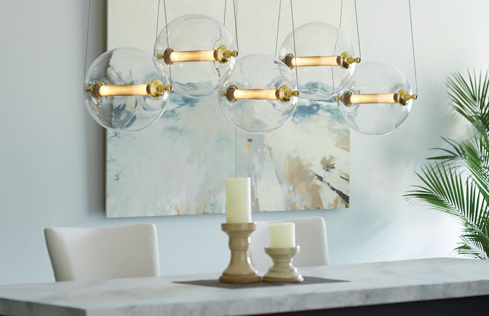 Otto 5-Sphere Pendant from Hubbardton Forge