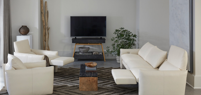 Fulton Reclining Sofa & Chairs from American Leather