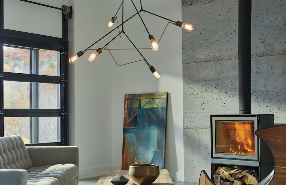 Divergence Pendant from Hubbardton Forge
