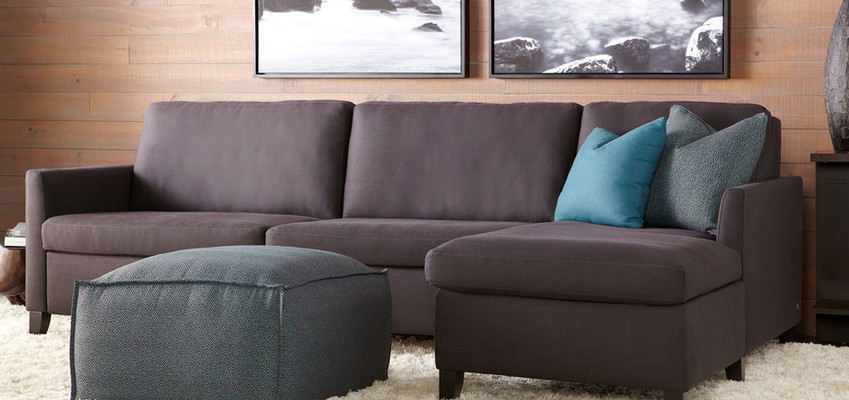 Harris Comfort Sleeper Sectional from American Leather