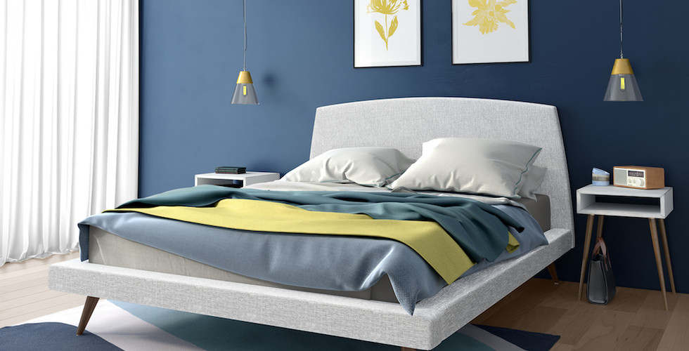 Whitney Upholstered Bed from Amisco