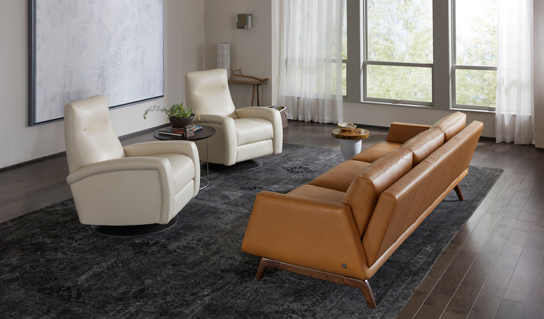 Nash Sofa & Comfort Recliners from American Leather
