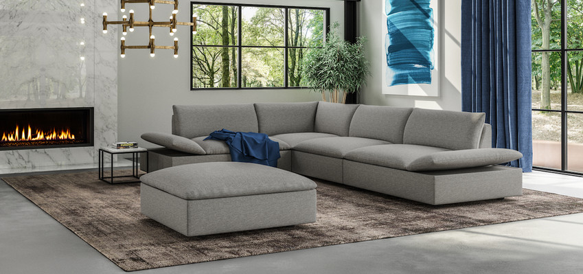 Versa Sectional by American Leather