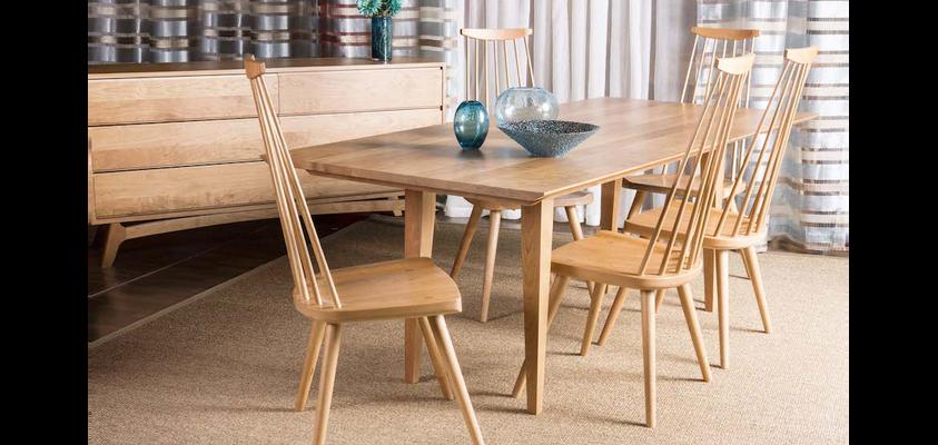 Landing Table & Maya Chairs from Gat Creek