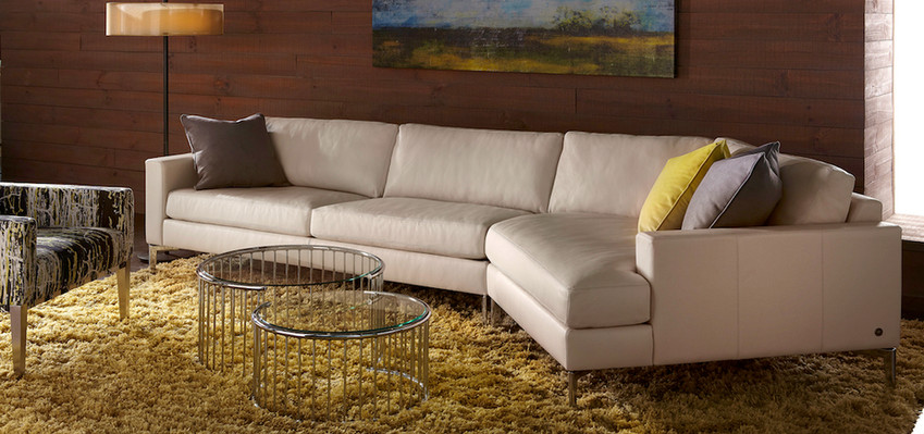 Oliver Sectional from American Leather