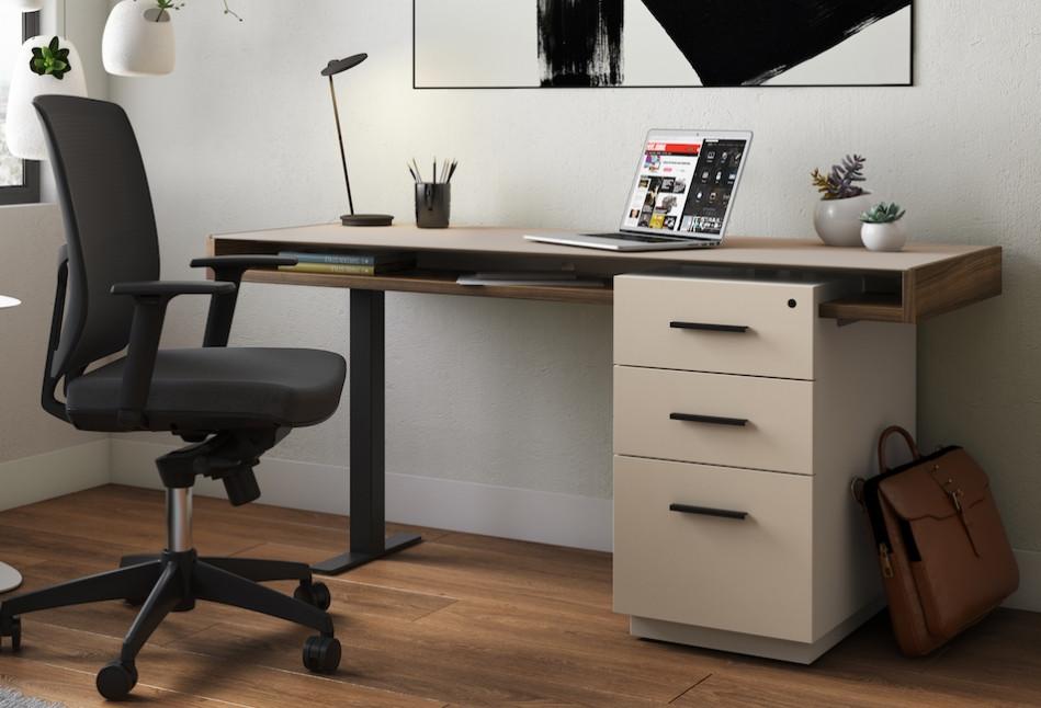 Pedestal Desk from BDI