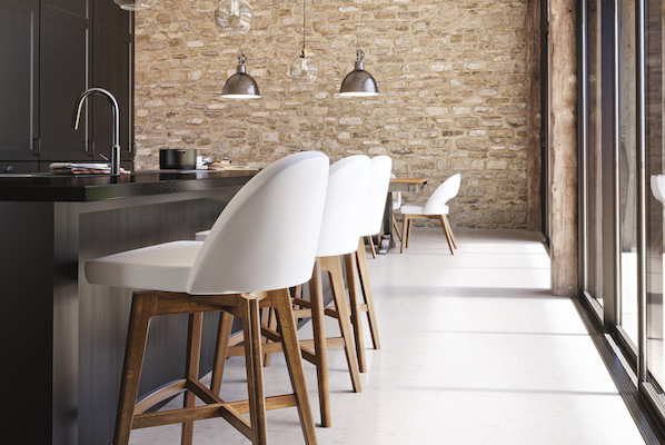 Downtown Swivel Stools from Canadel