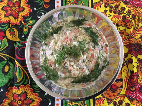 Vasily & Evgenia Petrenko's Olivier Salad