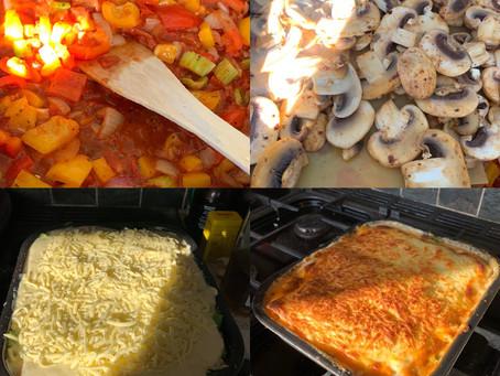 Rachel Nicholls' Indulgent Vegetarian Lasagne