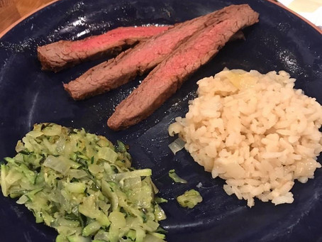 Anne Midgette's Don's Flank Steak