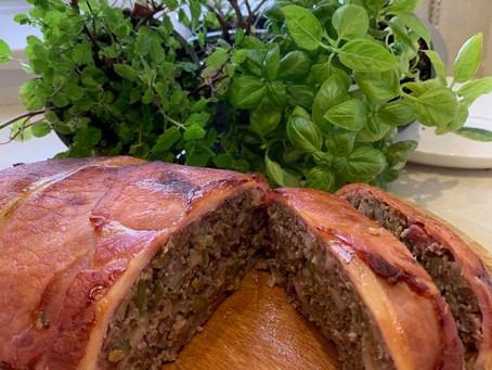 Alice & Benjamin Hulett's Meatloaf With Tomato & Basil Sauce