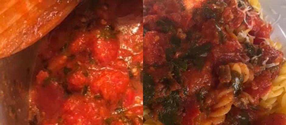 Meghan McCrimmon Foster's Jim's Sauce Pasta