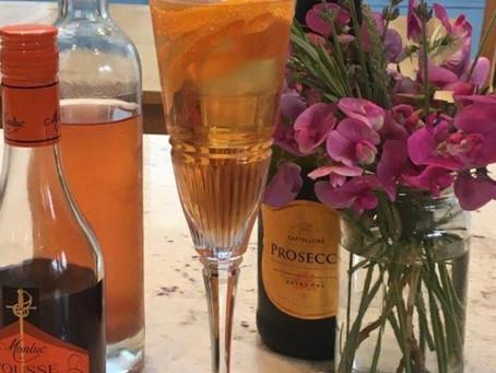 Jeni Bern's Soprano Tears Cocktail with homemade Vin D'Oranges