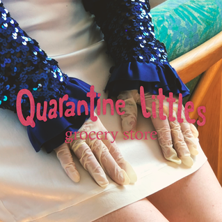quarantine littles: grocery store