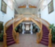 good samaritan interior staircase lobby