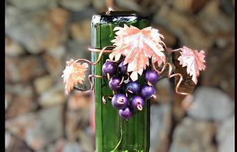 Hummingbird winebottle feeder.jpg