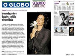 Obscena - O Globo
