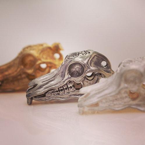 Iconic Skull Pendant / Keychain