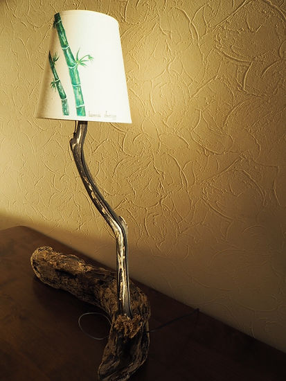 ラムアデザイン 木のランプ