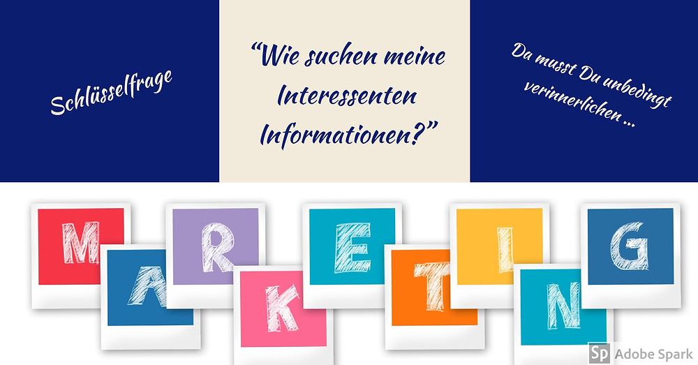 Wie suchen meine Kunden eigentlich nach Informationen