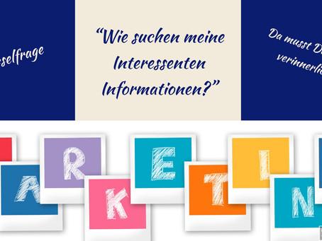 Wie suchen meine Kunden eigentlich nach Informationen?