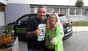 Ralf Schmitz mit Petra Hermes Affilidays
