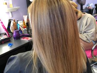 Haircut, Hilites and Style