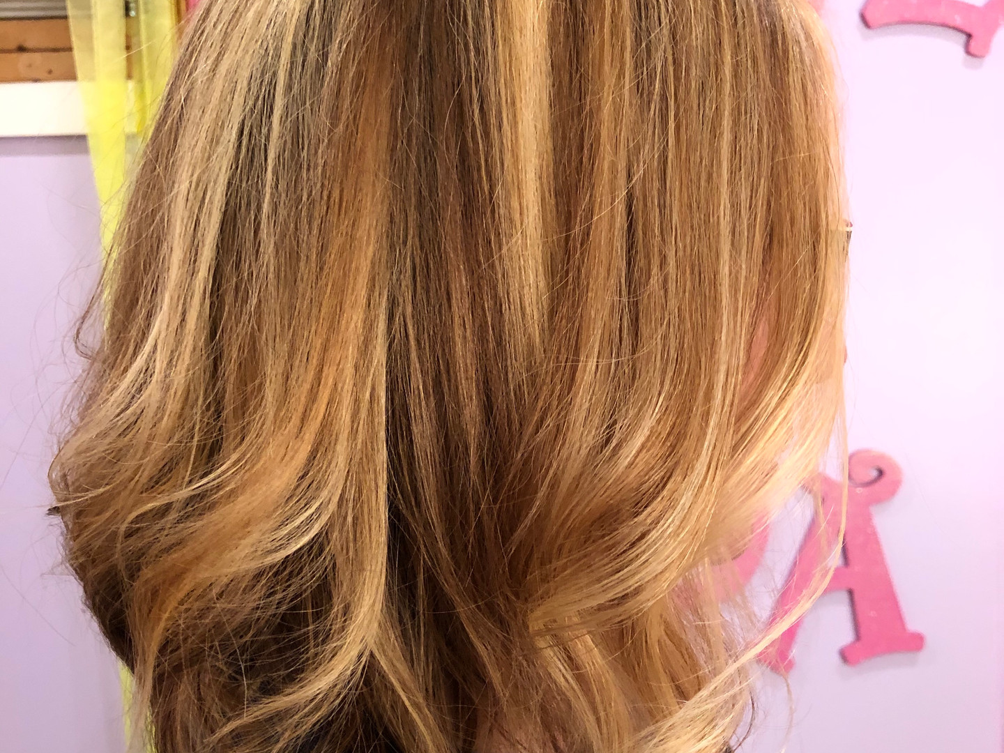 Hair cut, color and hilights