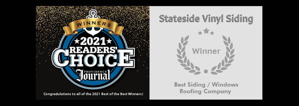 2021 Readers Choice Awards Winner