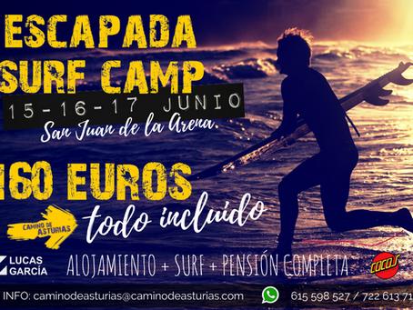 Escapada Fin de Semana de Surf Camp