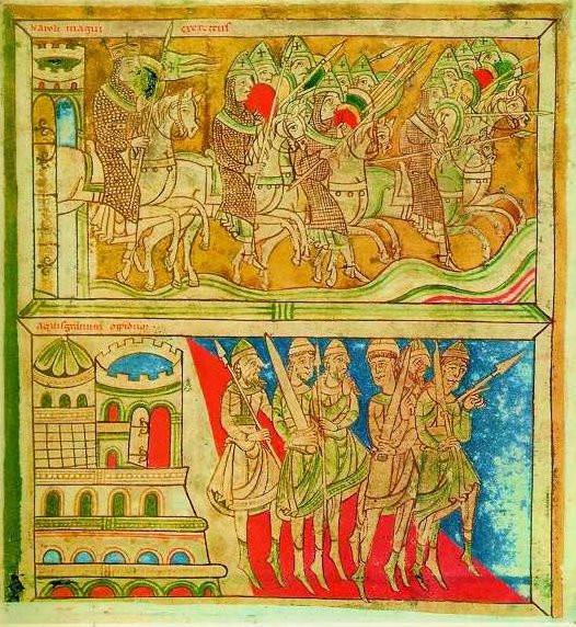 detalle códice calixtino